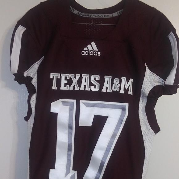 adidas Other - Adidas Football Jersey Texas A&M Foster Sz Medium